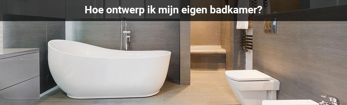 Badkamerplanner | Ontwerp zelf uw badkamer met Jetten B.V.!